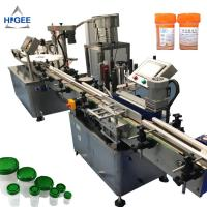 China Pharmaceutical Liquid Automatic Bottle Filling Machine With Polypropylene Caps on sale