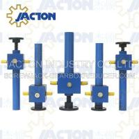 Cheap 200 KN Cubic Screw Jack Lifting Screw Diameter 70MM Lead 10MM Gear Ratio 10:1 and 40:1 for sale