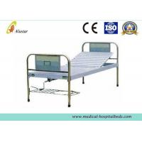 China Durable Stainless Steel Hand Control Medical Hospital Beds Single Crank Bed (ALS-M114) on sale