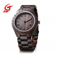 Best Water Resistant Retro Chronograph Watches Ebony Wristwatch Customized Logo wholesale
