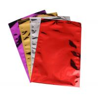 China Colorful Aluminum Foil Envelopes Moisture Proof Three Side Seal For Mailing on sale