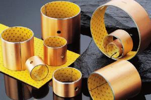 Best Metal Yellow Pom Bush Wrapped Bronze Bearings Self Lubricating wholesale