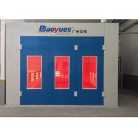 Best Car Paint Spray Booth Centrifugal Fan Infrared Heating Separate Control wholesale