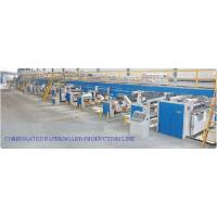 Cheap High Speed Layer Corrugated Paper Board Pre Press Equipment Production Line for sale