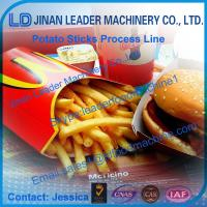 Best Potato chips sticks food processing line,automatic machine best quality wholesale