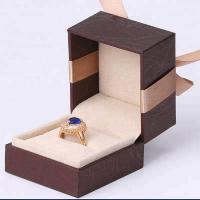 China Luxury Rigid Jewelry Gift Boxes Cardboard Paper Jewellery Gift Box Packaging on sale