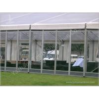 China 800 People Large Clear Roof Outdoor Event Tent Wedding Reception Marquee on sale