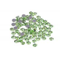 Good Stickness Hot Fix MC Rhinestone For Sweaters , Jeans And Veils