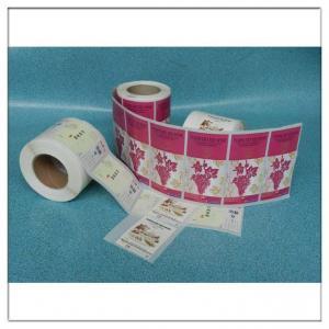 China Custom Printed Adhesive Roll Label Sticker Logo Printed Roll Label,Custom Printed Roll Self Adhesive Logo Label on sale
