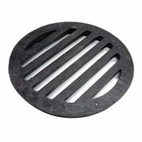 China Round Cast Iron Manhole Cover Floor Drain Grates Cover Gully Grids Round Bar Grates And Strainer on sale
