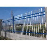 Best Powder Coating Black Garrison Metal Security Fence Panels 1800 X 2100MM wholesale