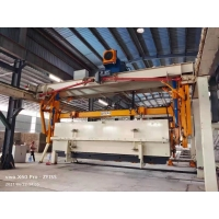 Best Wheels Carrying L5000mm AAC Block Plant Side Plate-AAC Plant Cross Cutting Machine Full Automatic Concrete AAC Brick wholesale