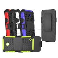 Best Wholesale phone case,special two-in one anti-skidding holder case for Nokia 635,TPU+Plastic,anti-shock,anti-dust wholesale