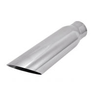 China SS304 2.25 Inlet 3 Outlet 12 Exhaust Pipe Tips on sale