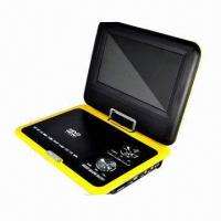 Best 7-inch Portable DVD Player with TV, Game, MPEG-4, USB, Card Reader and 270° Swivel Screen wholesale