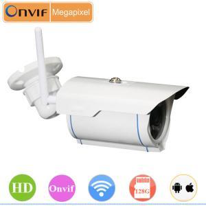 Best Onvif protocol wireless wifi outdoor bullet 1M 720P IP Camera wholesale