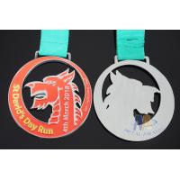 Best Die Casting Sports Award Medals 80 * 3mm For Dragon Boat Race / Sailboat wholesale