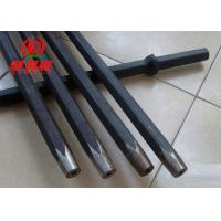 Best Taper Bits 7 / 9 Degree Rock Drill Rods, 11° 12° Drilling Rods And Bits For Rock Drill Machine wholesale