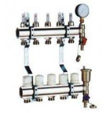 China DZR Brass Heating Manifolds(Manifolds for Underfloor Heating on sale