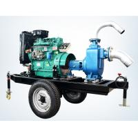 Best trailer mounted 20hp diesel engine water pump set for agricultural irrigation 100m3 / h wholesale