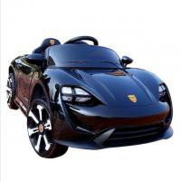 Best Rechargeable Black color Kids Toy car 6V4ah*2 Electric Ride On Car wholesale