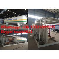 Best 15tons skid lpg gas station with double weighting scales for sale, factory sale best price 15tons mobile skid lpg plant wholesale