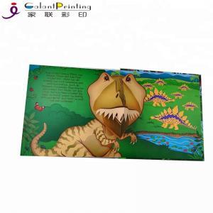 Best Custom Dinosaur Animal  Children'S Pop Up Story Books For 1 Year Olds wholesale