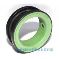 Cheap 2 - 24 Inch PTFE Valve Seat Round Shape DN50 - DN600 Port Size For Valve / Gas for sale