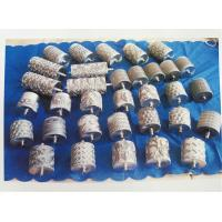 Buy cheap Decorative Stenter Machine Parts Non - Woven Fabric Silver Pattern Roller product