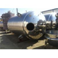 Best 316 304 Stainless Steel Wine Fermentation Tank Juice Mixing Tank For Beverages Industry wholesale