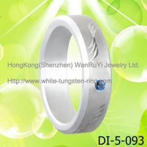 Best Platinum Plated Tungsten Band wedding ring wholesale