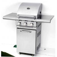 Barbecue Outdoor Kitchen Equipment 3 Burners Portable LP Propane Gas Grill