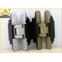 China Middle Duty Zamak Invisible Door Hinges 180 Degrees Of Security Door on sale