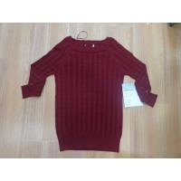 Best Boat Neck Muscle Fit Ladies Pullover Sweaters Reglan Sleeve Cable wholesale
