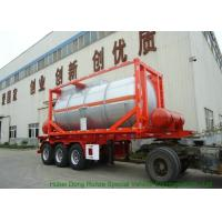Best 20FT Steam Heating Insulated Tank Container Stanless Steel For Yellow Phosphorus  P4 wholesale