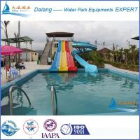 Best High Speed Swimming Pool Water Slide With Straight Slide wholesale