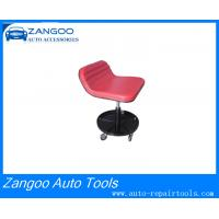 Best Customized Red / Black Tractor Garage Roller Seat Garage Stools With Wheels wholesale