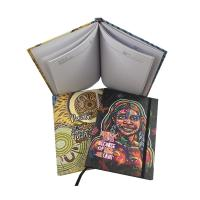 Best Hardcover Custom Planner Printing With Elastic Band Embossed Finishing wholesale