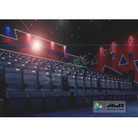 55 Inch Display 60 People 4D Digital Cinema Equipment With Blue Color 4 Motion