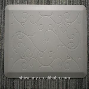 China 2016 new Flower grain jacquard design anti-fatigue door mat on sale