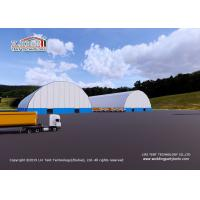 Buy cheap Warehouse Storage / Coal Storage with Aluminum frame and waterproof PVC cover from wholesalers