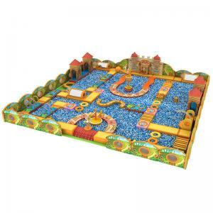 China Modular Kindergarten Playground Equipment , Commercial Grade Playground Equipment on sale