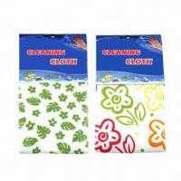 Best 30 x 38 cm printed microfiber cleaning cloths wholesale