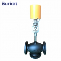 Best Three way Flange Electric Control Valve for Heat Oil Transfer used on setting machine wholesale