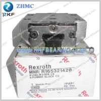 China Germany Rexroth R165321420 Linear Motion Ball Rail System Runner Block on sale