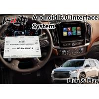 Buy cheap Android 6.0 GPS Navigation Video Interface for Chevrolet Traverse / Camaro 2014 - 2018 Mylink System from wholesalers