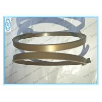 Bulldozer Pneumatic Cylinder Seals , PTFE Bronze Hydraulic Piston Rings