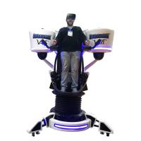 Best Attractive Fiberglass Shell 9D VR Flight Simulator 1 Player with Chinese / English Edition wholesale