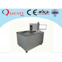Best Automatic Optical Fiber Laser Marking Machine For Saw Blade Etching , Jig Customized wholesale
