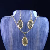 Best High Quality Stainless Steel Jewelry Set LUS89-2 wholesale